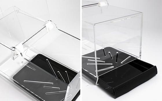 Limmad Pribox med gångjärn och sockerlåda
