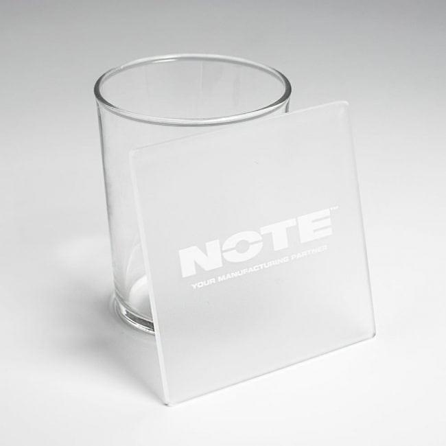 NOTE acrylic coasters