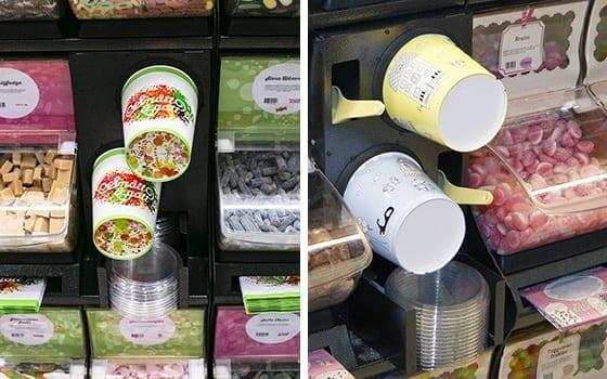 Quickbox cup holder