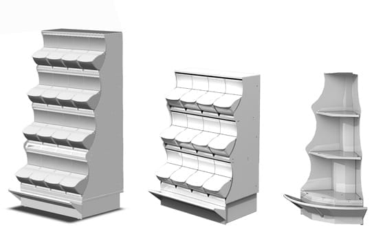 Quickbox display stands