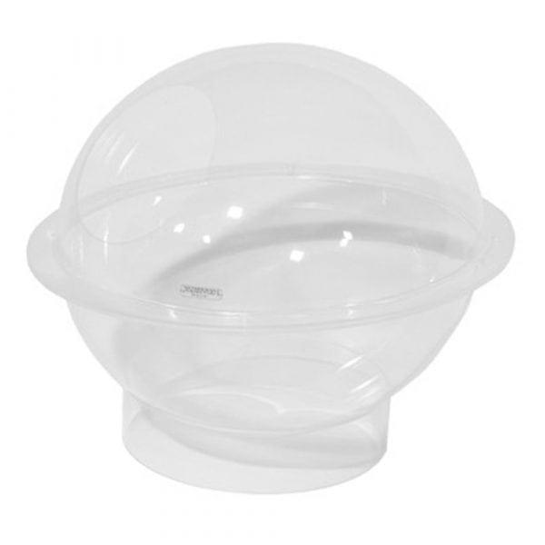 Sphere display in acrylic, table top model.