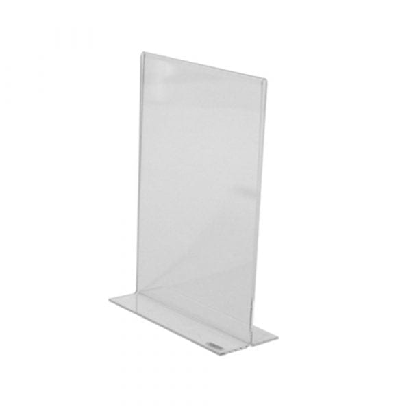 Double-sided menu holder