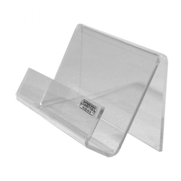 Acrylic business card stand