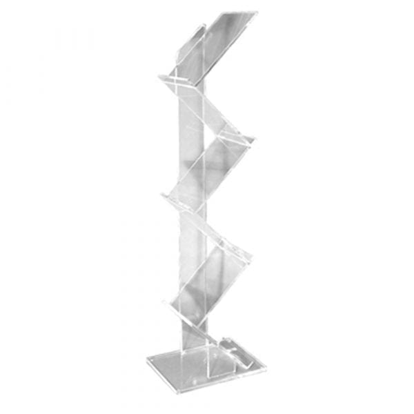 Multi-tiered brochure stand