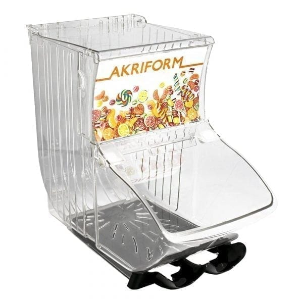 Quickbox with two scoop holders