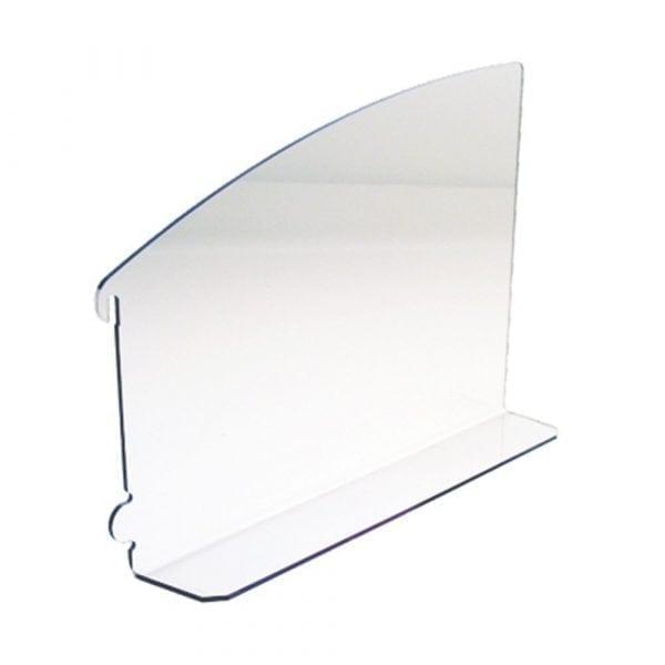 Divider for corner display
