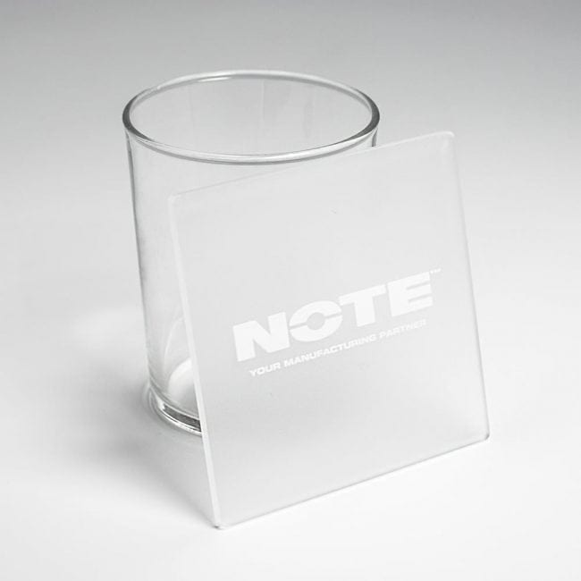 NOTE acrylic coasters