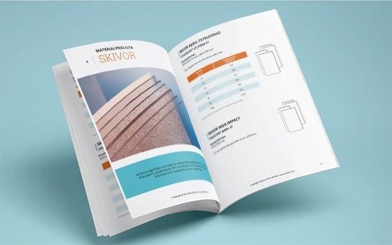 Akriform pricelist for materials