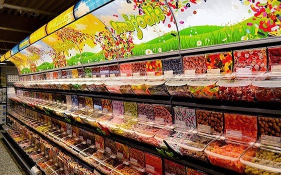 Quickbox pick & mix display solutions