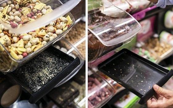 Quickbox sugar tray