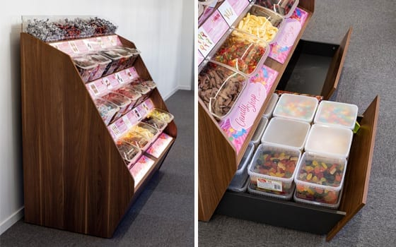 Candy Shop Concept belysning & förvaring